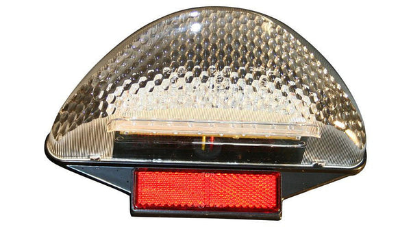 Hornig White Tail Light Lens w/LED lighting