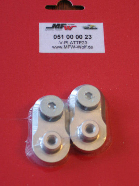 Footpeg Extension Set - 23mm