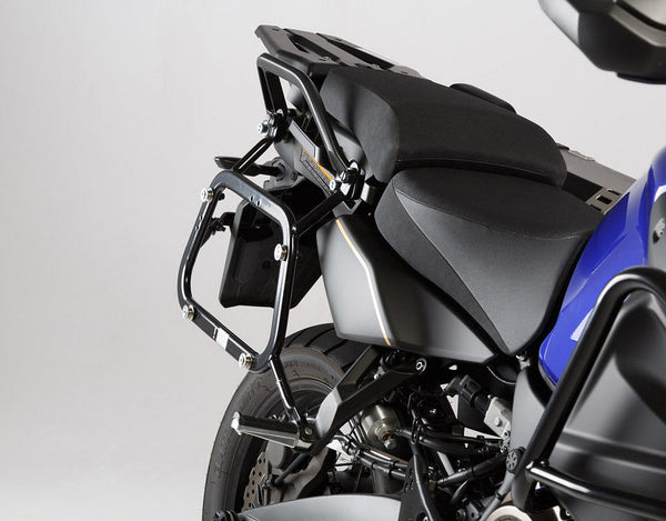 SW-MOTECH Quick-Lock EVO Sidecarrier to Fit TraX, Givi, DrySpec & Other Sidecases (Yamaha XT1200Z Super Tenere '11+)
