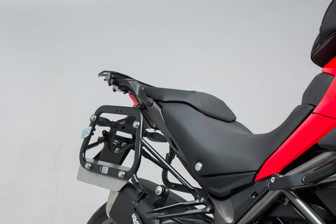 SW-MOTECH QUICK-LOCK EVO Side Carriers (Multistrada 1200 Enduro '16- & Multistrada 950)