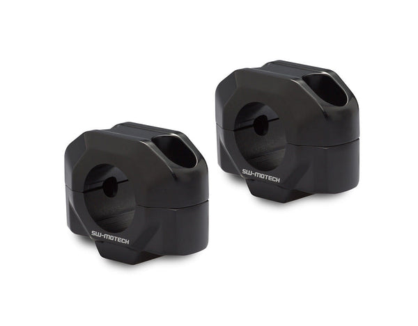 SW-MOTECH 20mm Handlebar Risers For Select Motorcycles with 28mm Handlebars