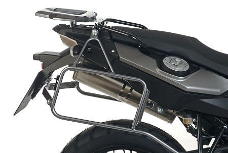 Hepco & Becker Lock-It Pannier Mounts With Optional Rear Rack (BMW F650GS '08+, F700GS '08+, & F800GS '08+)