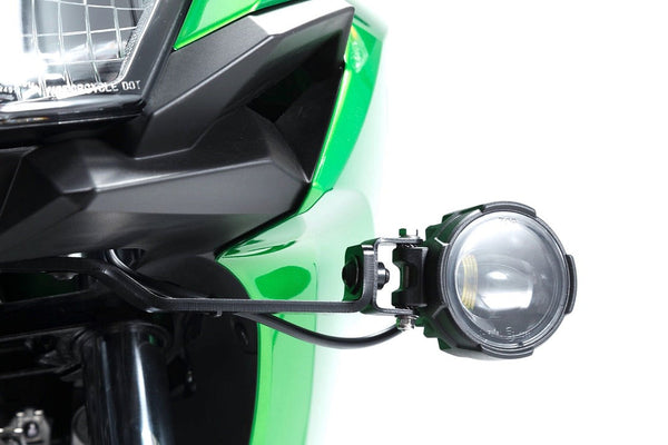 SW-MOTECH Auxiliary Lighting Mount Kit - (Kawasaki Versys-X 300)