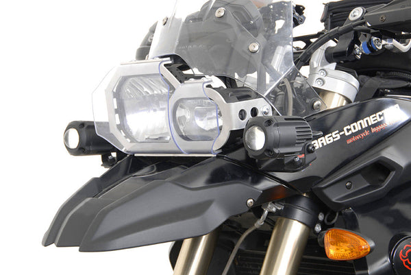SW-MOTECH Hawk Aux. Light Mounts (F650GS & F800GS -'12)