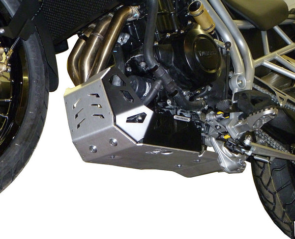 SW-Motech Aluminum Engine Guard/Skidplate (Triumph Tiger 800, All Models)