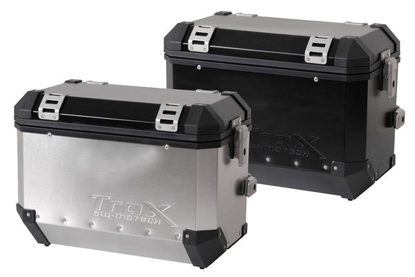 TraX 45-liter EVO ALU-BOX - Right, Aluminum
