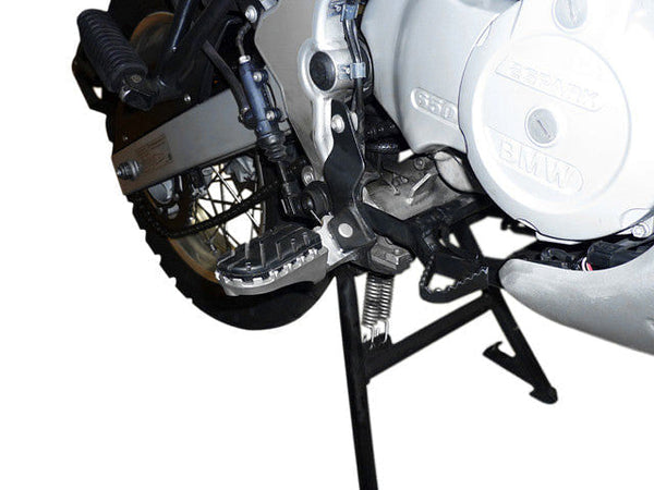 SW-MOTECH On-Road/Off-Road Convertible Footpegs (BMW G650GS '08-'16, G650GS Sertao '12-'15, F650GS Single '04-'07 & F650GS Twin '08-'10)