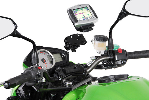SW-MOTECH Detachable Vibration-Damped GPS Holder (BMW F800ST '06-'12, G650GS '11-'16 & G650GS Sertao '12-'15)
