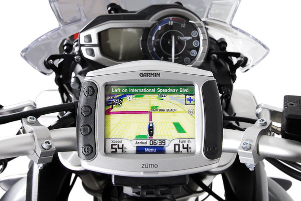SW Motech Detachable Vibration-Damped GPS Holder (Triumph Tiger Explorer 800 Models)