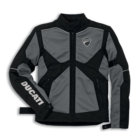 Ducati Jacket Company 14` Spidi Textile Tex Perforated Summer Jacket