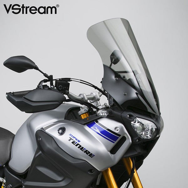 VStream Windscreen - Sport Touring Height, Light Tint (Super Tenere 2014+)
