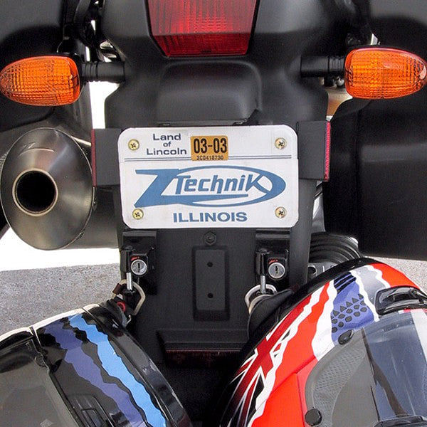 Ztechnik License Plate Bracket Helmet Lock