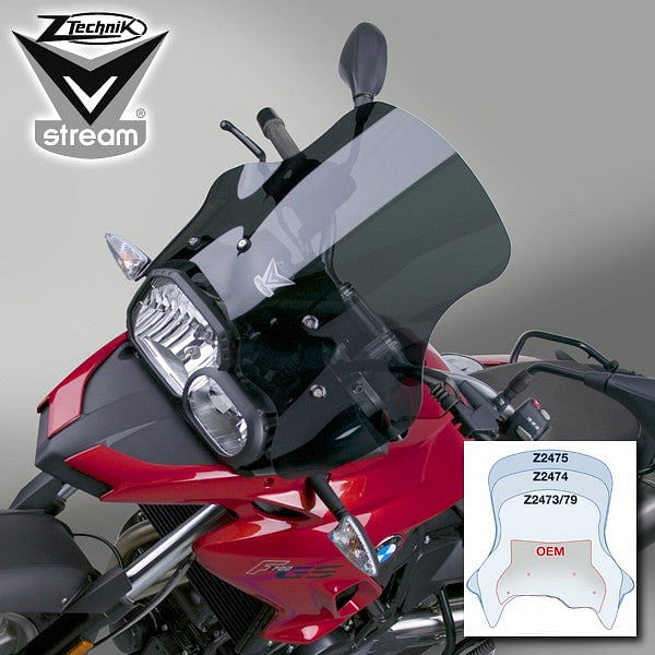 VStream Sport Screen - Dark Tint (F700GS)