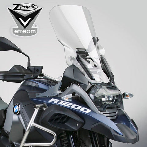 VStream Windshield - Touring Deluxe, Clear (R1200GS/GSA LC)