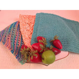 Hand knit 100% cotton dishcloths - Knittins With Kittens - 2