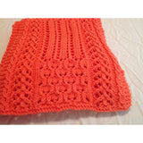 Intricate, hand knit lace scarf - Knittins With Kittens - 5