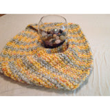 Multi-colored infinity scarf - Knittins With Kittens - 2