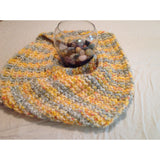 Multi-colored infinity scarf - Knittins With Kittens - 3