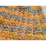 Multi-colored infinity scarf - Knittins With Kittens - 4
