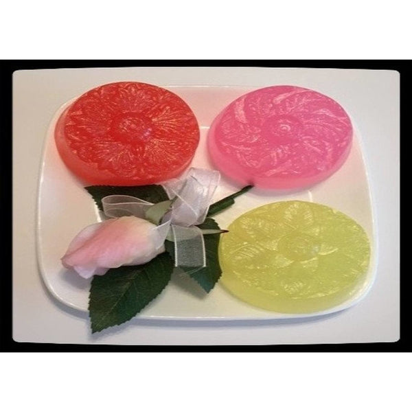 Celebrate summer with these bright, sparkly flower soaps - Knittins With Kittens - 1