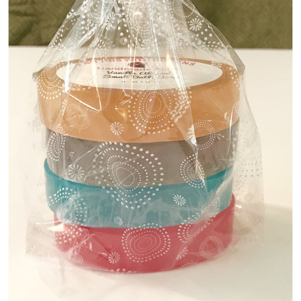 Vanilla lovers small bath soap sample set #2 - Knittins With Kittens - 1