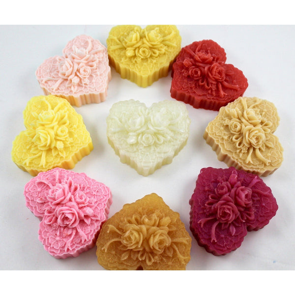 Wedding bouquet soap, wedding rings soap; makes good wedding favors - Knittins With Kittens - 1