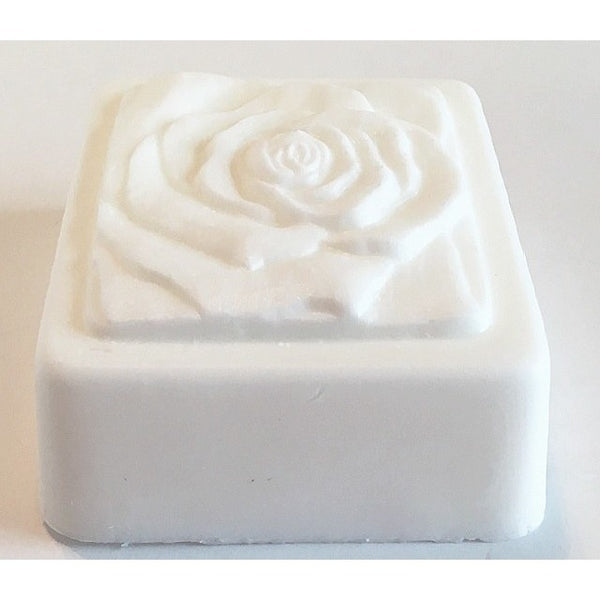 White Rose soap - Knittins With Kittens - 1