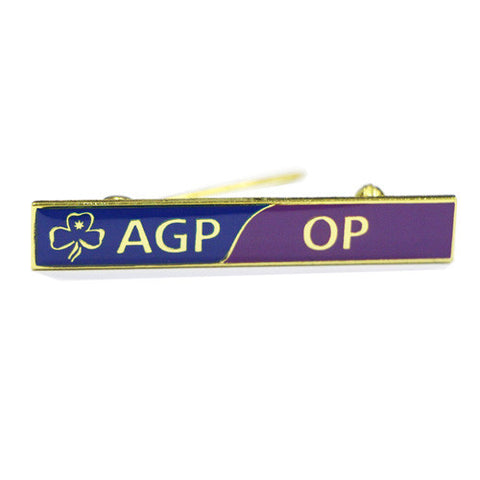 Olave AGP-OP Link Badge - Guides Queensland Guide Supplies - 1