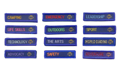 Achieve a Challenge Badge - Guides Queensland Guide Supplies - 1