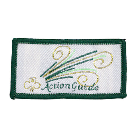 Action Cloth Badge 2021 Green