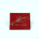 Action Metal Badge 2020 Red