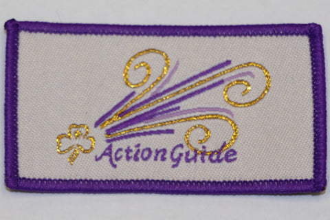 Action Cloth Badge 2018 - Purple