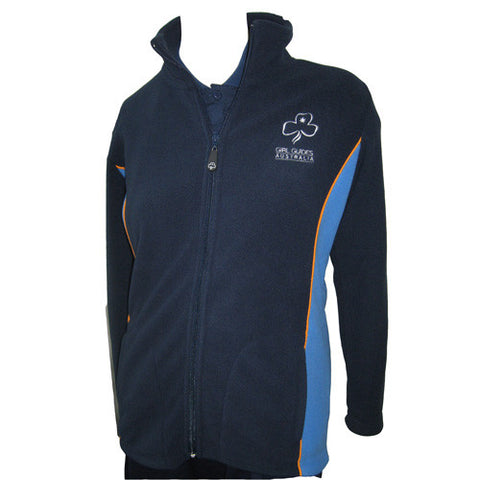 Adult Uniform Fleece Jacket - Guides Queensland Guide Supplies - 1
