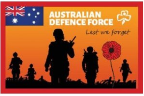 Anzac Day Cloth Badge 2020