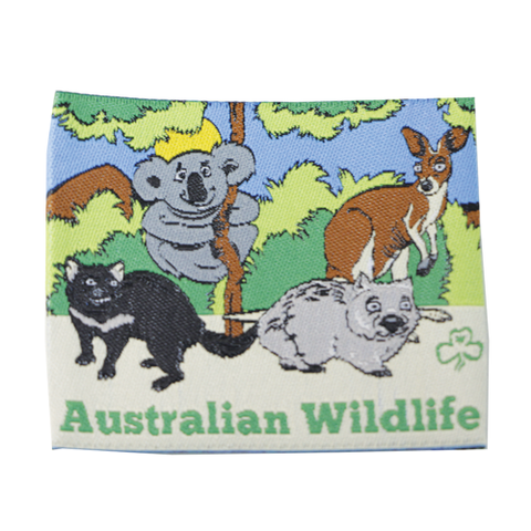 Australian Wildlife Cloth Badge