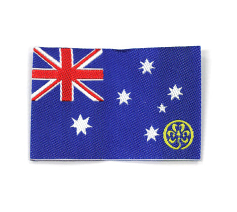 Australian Flag Badge - Guides Queensland Guide Supplies