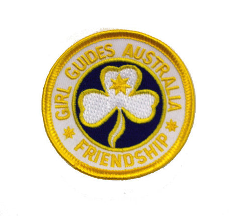 Australian Friendship Cloth Badge - Guides Queensland Guide Supplies