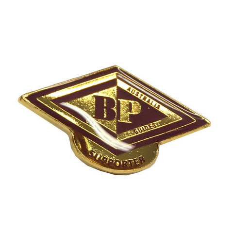 BP Supporter Metal Badge - Guides Queensland Guide Supplies