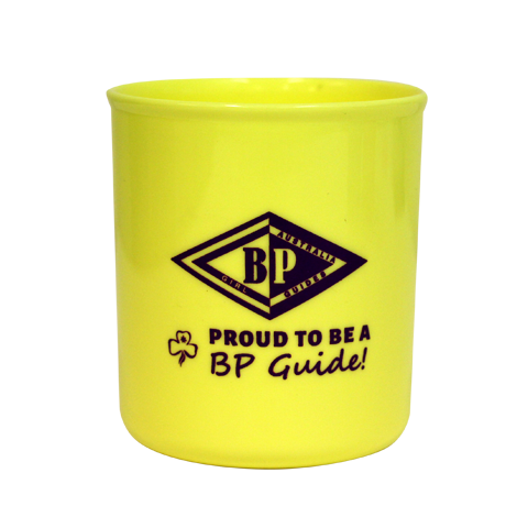 BP - Proud To Be A BP Plastic Mug - Yellow