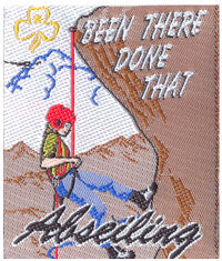Been There Done That- Abseiling