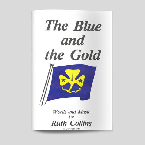 The Blue and Gold Sheet Music - Guides Queensland Guide Supplies