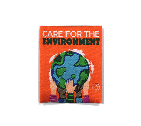 Care for the Environment Cloth Badge - Guides Queensland Guide Supplies