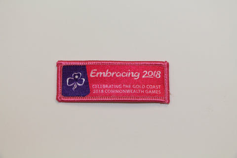 Commonwealth Games Cloth Badge 2018