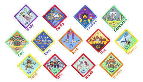Create a Challenge Badge - Guides Queensland Guide Supplies - 1