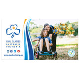 Small Girl Guides Canvas Banner - Design 5