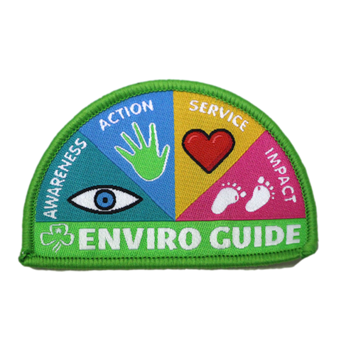 Enviro Guide cloth badge