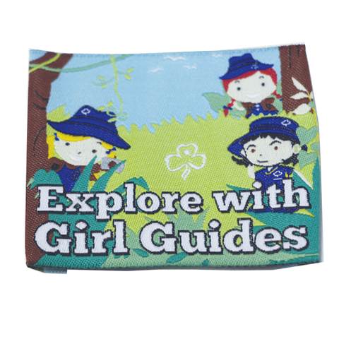 Explore With Girl Guides Cloth Badge