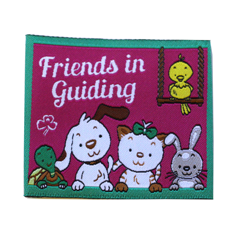 Friends In Guiding Cloth Badge