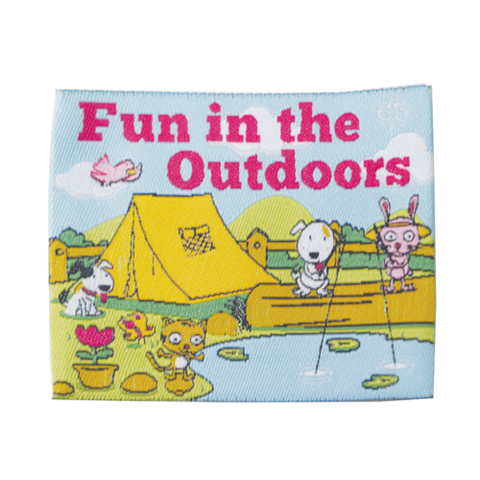 Fun In The Outdoors Cloth Badge