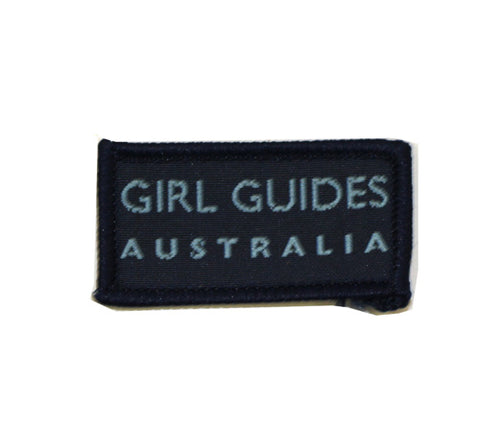 Guides Australia Flash Cloth Badge